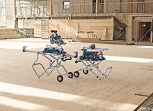 Ευέλικτα τραπέζια μεταφοράς και εργασίας από την Bosch