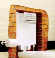 Εντοιχιζόμενα καζανάκια Deco από την Ideal Standard