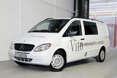 Ηλεκτρικό Mercedes-Benz Vito με μηδενικές εκπομπές ρύπων!