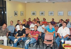 Επισημάνσεις ομιλητών στη γενική συνέλευση της Ομοσπονδίας εγκαταστατών συντηρητών καυστήρων στη Λάρισα