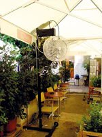 HYDROFUN: Πλήρης γκάμα συστημάτων δροσισμού εξωτερικών χώρων