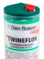 Den Braven Hellas SA: Στεγανοποιητικό νήμα σωληνώσεων Twineflon
