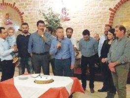 Πρωτοχρονιάτικη πίτα έκοψε ο ΣΕΥΔΑΠ