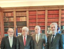 Επίσκεψη του προεδρείου της ΓΣΕΒΕΕ στον Πρόεδρο της Δημοκρατίας