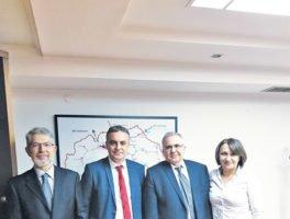 Συναντήσεις ΔΕΣΦΑ-MER JSC Skopje για τον αγωγό «Ν. Μεσημβρία -Β.Μακεδονία»