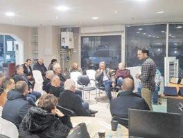 Συνεταιρισμός Υδραυλικών Άρτας: Πλούσιο πρόγραμμα δραστηριοτήτων