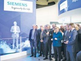 H Siemens οδηγεί τη βιομηχανία στο επόμενο επίπεδο του ψηφιακού μετασχηματισμού