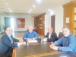 Συνάντηση ΓΣΕΒΕΕ με τον Υπουργό Παιδείας, κ. Κώστα Γαβρόγλου