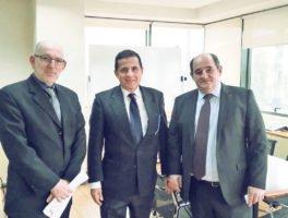 Συνάντηση αντιπροσώπων της ΕΒΗΕ με τον Γεν. Γραμματέα Φυσικού Περιβάλλοντος & Υδάτων