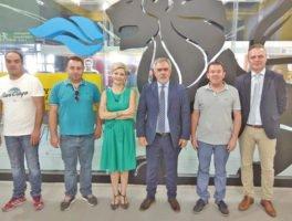 Συνάντηση διοίκησης Συνδέσμου Τρικάλων με την ΕΔΑ Θεσσαλίας στην 84η ΔΕΘ