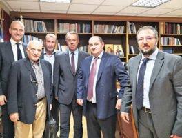 Συνάντηση αντιπροσωπείας της ΕΒΗΕ με τον Υπ. Οικονομικών Χρήστο Σταϊκούρα