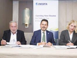Υπογραφή της νέας Επιχειρησιακής Συλλογικής Σύμβασης Εργασίας μεταξύ ΔΕΣΦΑ-ΣΕΔΕΣΦΑ
