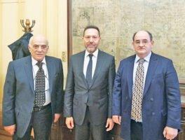 Συνάντηση αντιπροσωπείας της ΕΒΗΕ με τον Διοικητή της Τράπεζας της Ελλάδος κ. Ιωάννη Στουρνάρα