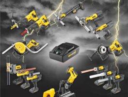 REMS: Επαναφορτιζόμενα εργαλεία 22 V