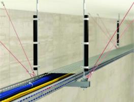 Caramondani Hellas: Νέο Συστήμα αντισεισμικής στήριξης με συρματόσχοινο για Η/Μ δίκτυα και εξοπλισμό από την nVENT CADDY