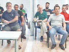 Σεμινάριο για τους επίτοιχους λέβητες παρακολούθησαν οι Τρικαλινοί υδραυλικοί