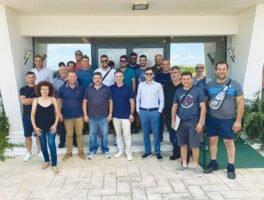 Επίσκεψη συναδέλφων από το Ρέθυμνο και τα Χανιά στο εργοστάσιο της Interplast