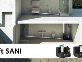 Νέα σειρά προκατασκευασμένων συγκροτήματων DrainLift SANI από τη Wilo