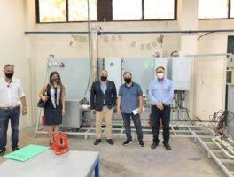 Πρόεδρος και Σύμβουλοι του ΒΕΠ επισκέφτηκαν την ΕΠ.Α.Σ. Μαθητείας του Ο.Α.Ε.Δ. στην Ελευσίνα