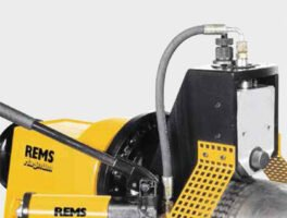 REMS: Ηλεκτρικοί αυλακωτήρες σωλήνων